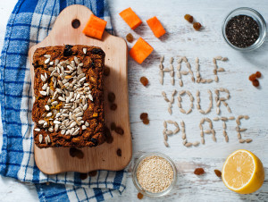 Sweet Potato, Dried Fruit and Quinoa Bread