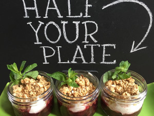 Mulled Cherry Parfait with Creamsicle Yogurt & Your Favourite Granola