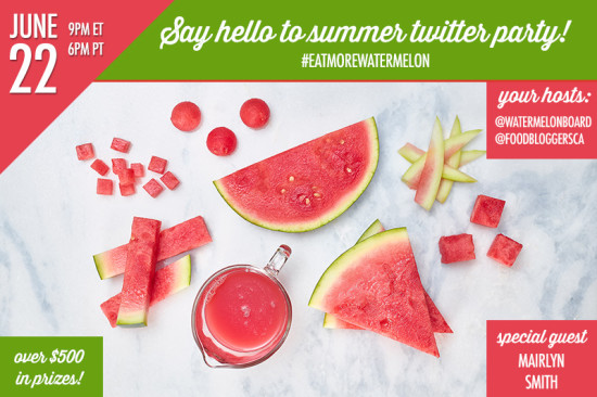 Watermelon Twitter Party