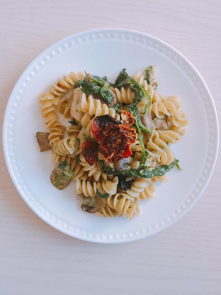 Veggie Pasta by Angela Wallace