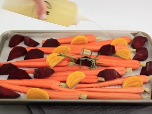 Roasted Carrots and Beets