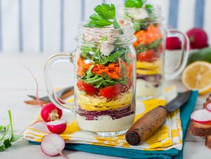 Back to School Lunches with Dips and Dressings