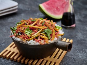 Watermelon Rind Stir Fry