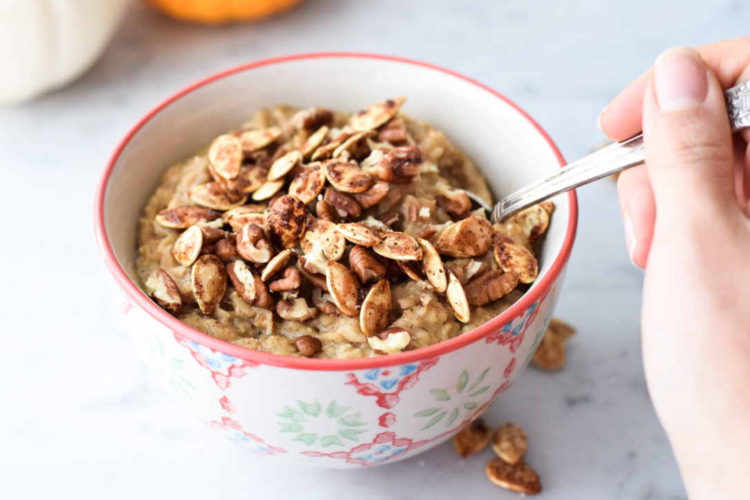 Pumpkin Oatmeal by Marie Eve Caplette