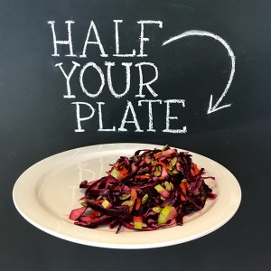 Michael Smith Red Cabbage Salad with Cranberry Vinaigrette