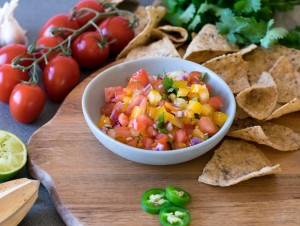 Three homemade salsas and how to use them!