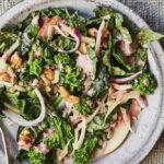 Broccoli Rabe and Kale Harvest Salad