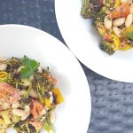 Roasted Broccoli and Bean Salad