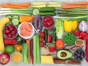 Eating fruits and vegetables for healthier digestion
