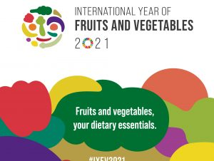 2021: The International Year of Fruits and Vegetables